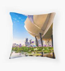Artscience museum singapore Throw Pillow