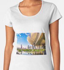 Artscience museum singapore Premium Scoop T-Shirt