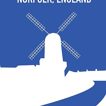 Norfolk England by vectorwebstore