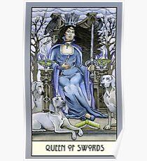 Queen of Swords, Card Poster