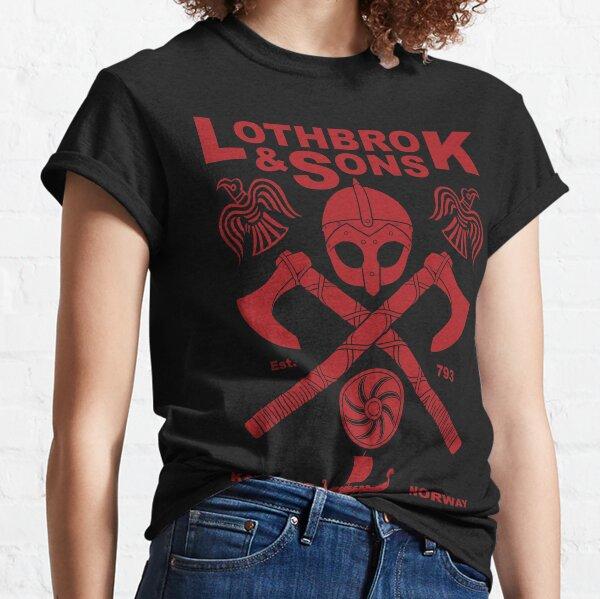 Vikings : Lothbrok & Sons (Blood Eagle) Classic T-Shirt