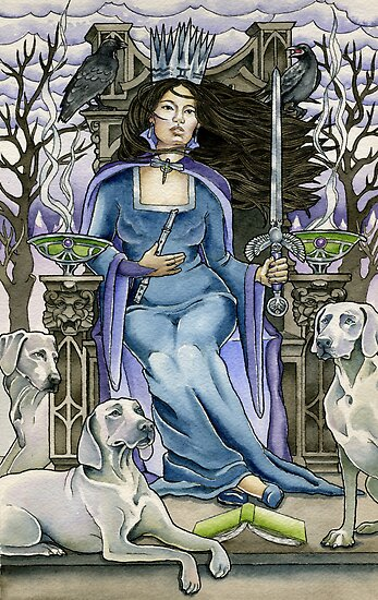 Queen of Swords by WinonaCookie