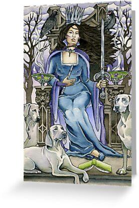 Queen of Swords by WinonaCookie