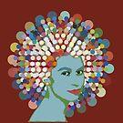 Disco Queen RED by BigFatArts