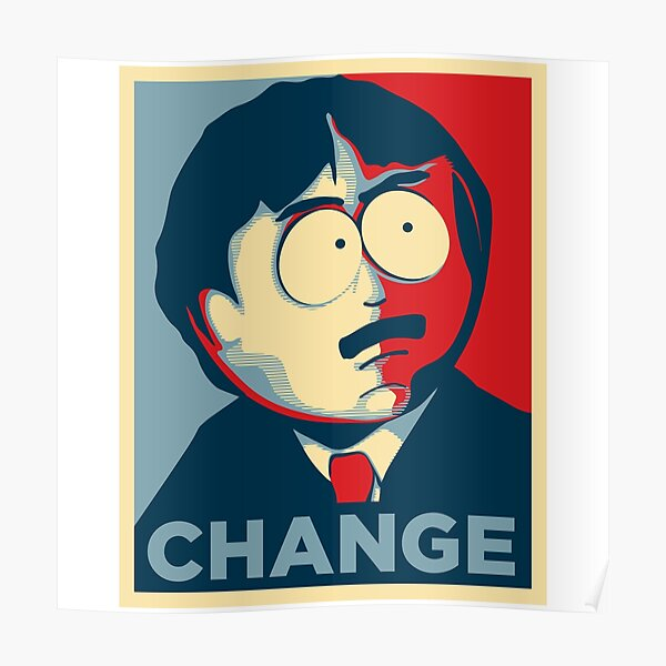Randy Marsh - CHANGE Poster