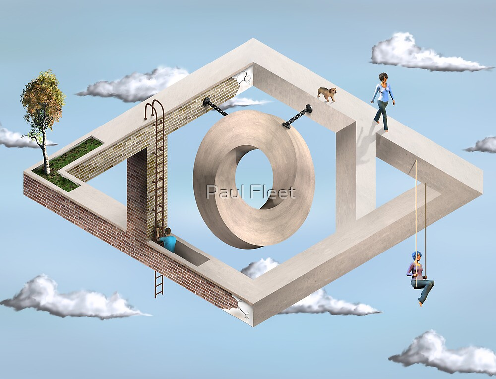 Impossible Geometric Architecture by Paul Fleet