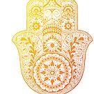 «Hamsa Amarillo Naranja» de adjsr