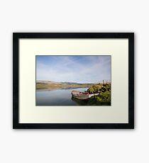 Tranquil river scene UK Framed Print