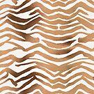 Zebra-Print - Roségold-Palette von Cat Coquillette