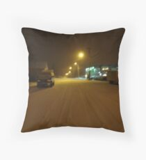 fernie night Throw Pillow