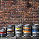 Glasgow. Draft beer. by Jean-Luc Rollier