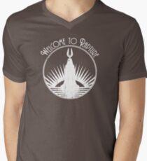 Bioshock Welcome To Rapture Men's V-Neck T-Shirt