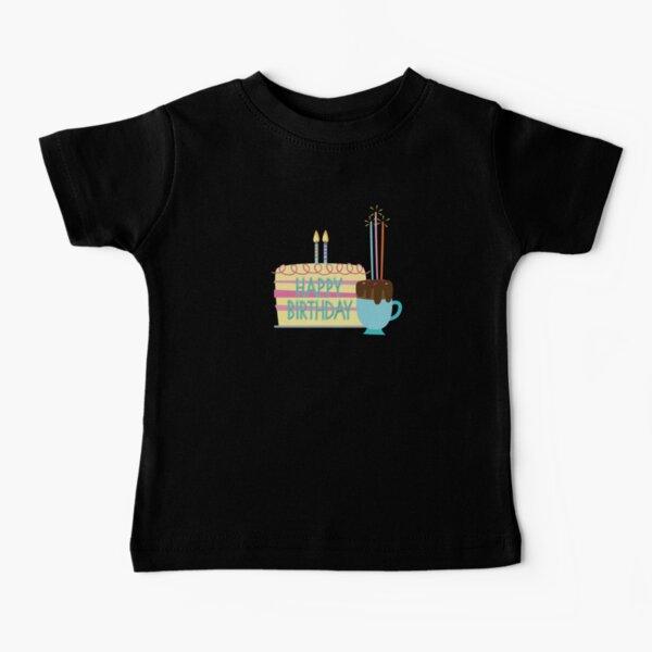 Happy Birthday Cake Baby T-Shirt