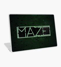The Darkest Puzzle - The Maze Runner Laptop Skin