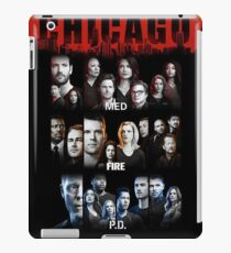 Chicago Fire PD Med iPad Case/Skin