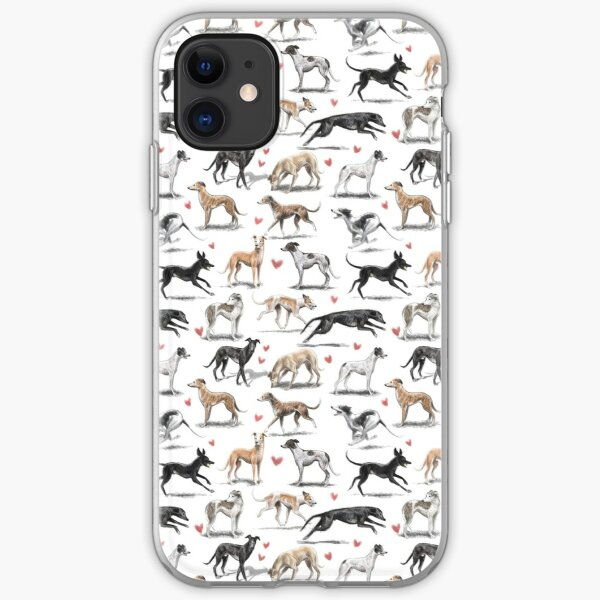 Greyhounds iPhone Soft Case