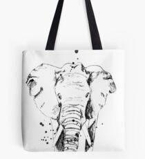 Der schwarze Elefant Tote Bag
