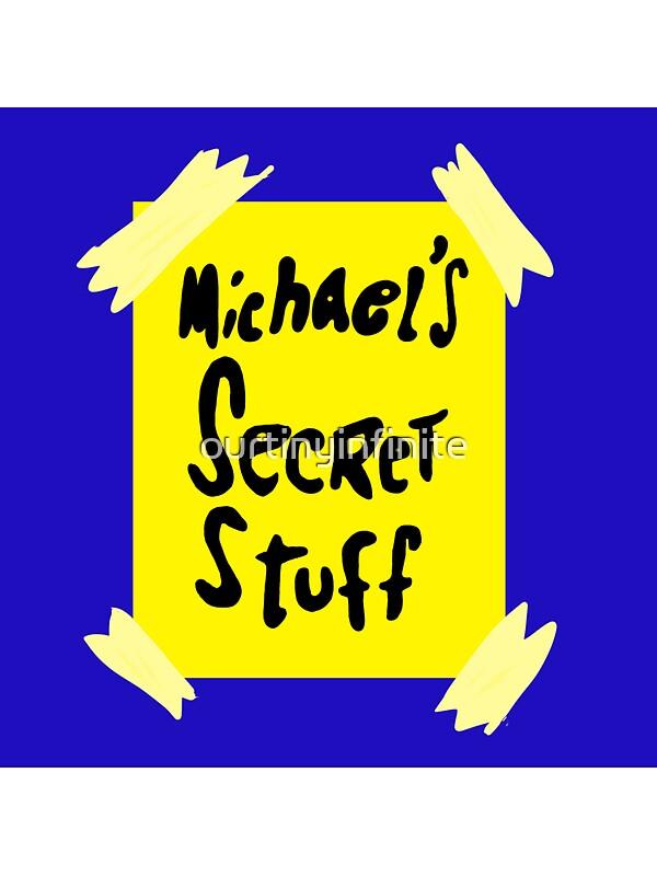 Quot Michael S Secret Stuff Space Jam Bottle Quot Stickers By