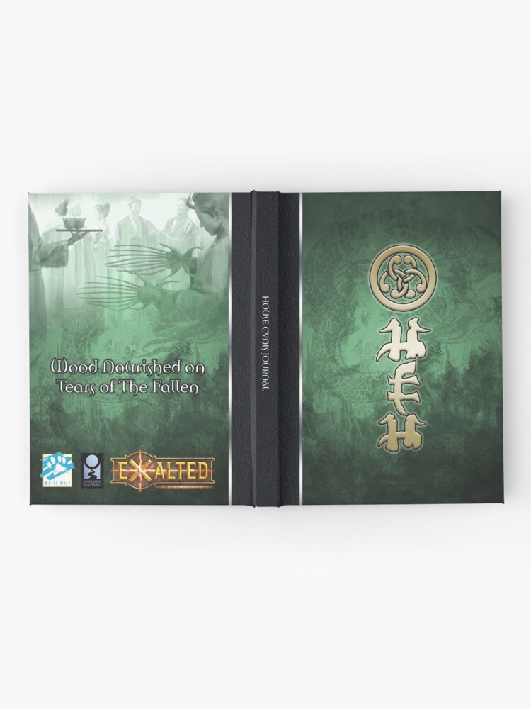 Alternate view of Dragon-Blooded: House Cynis Hardcover Journal