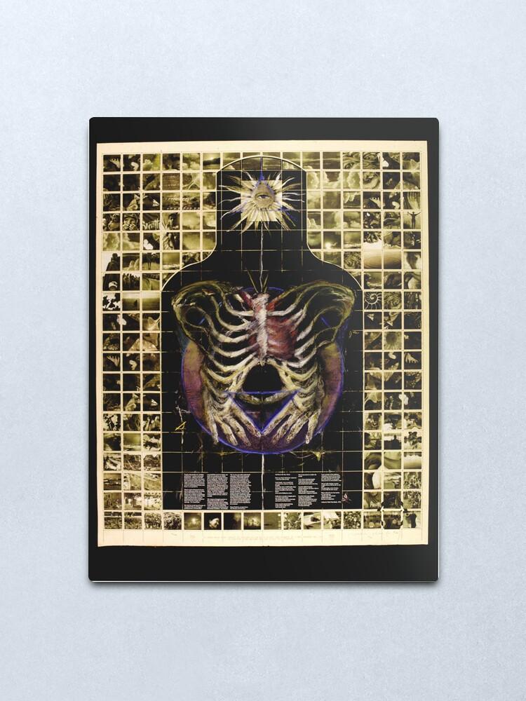 Alternate view of Target Tonglen of Transformation Metal Print