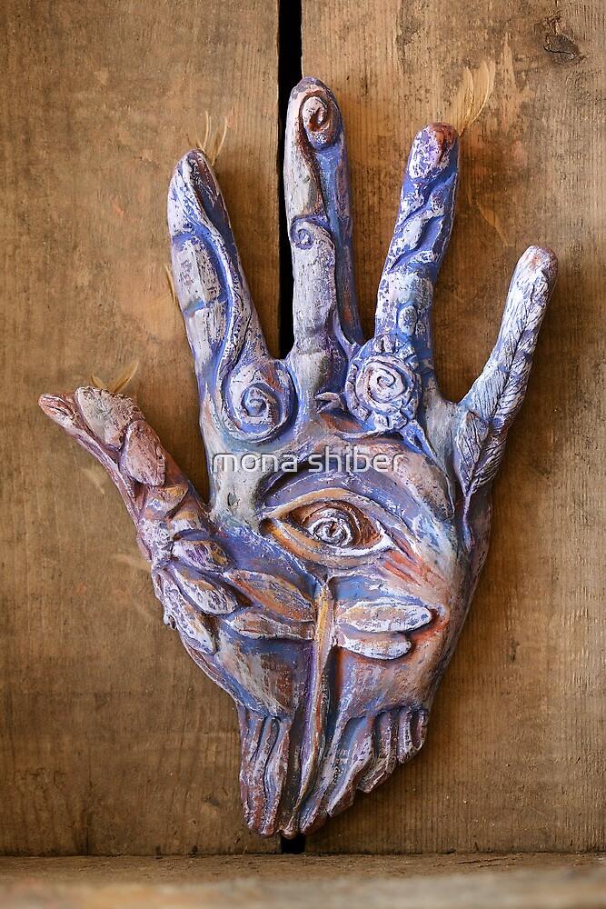 Hand Eye by Mona Shiber