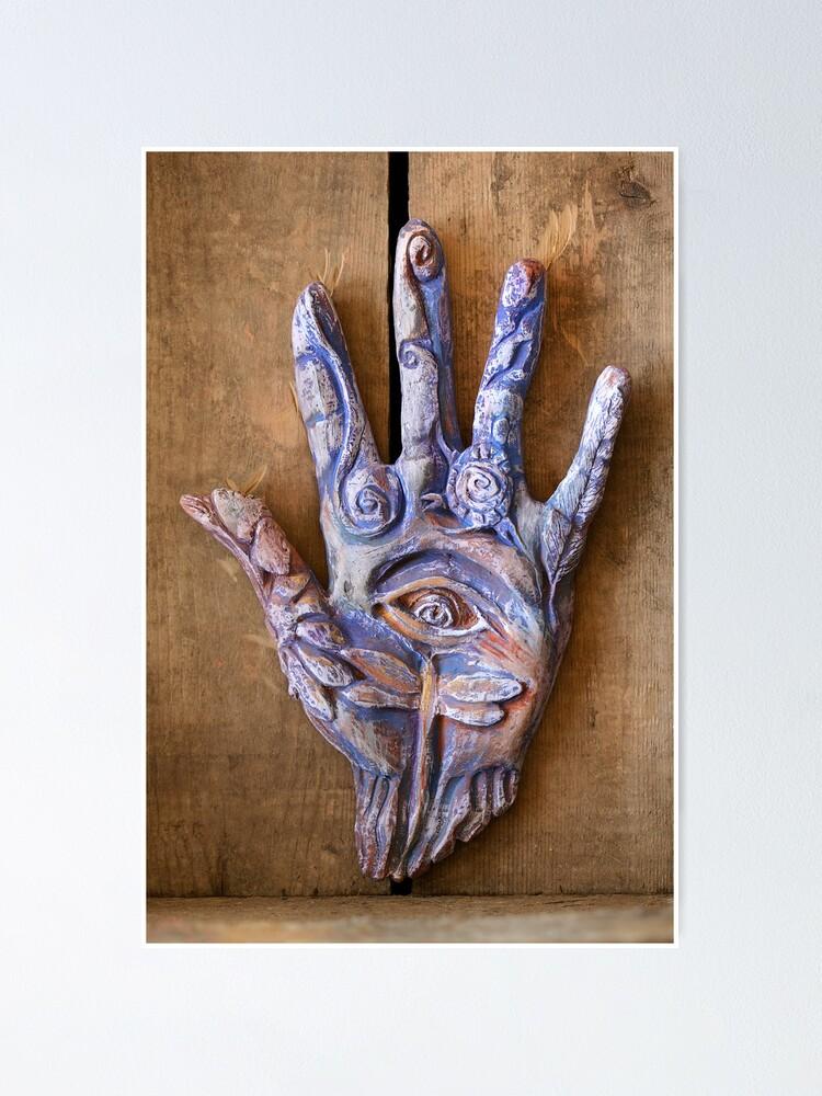 Alternate view of Hand Eye Poster