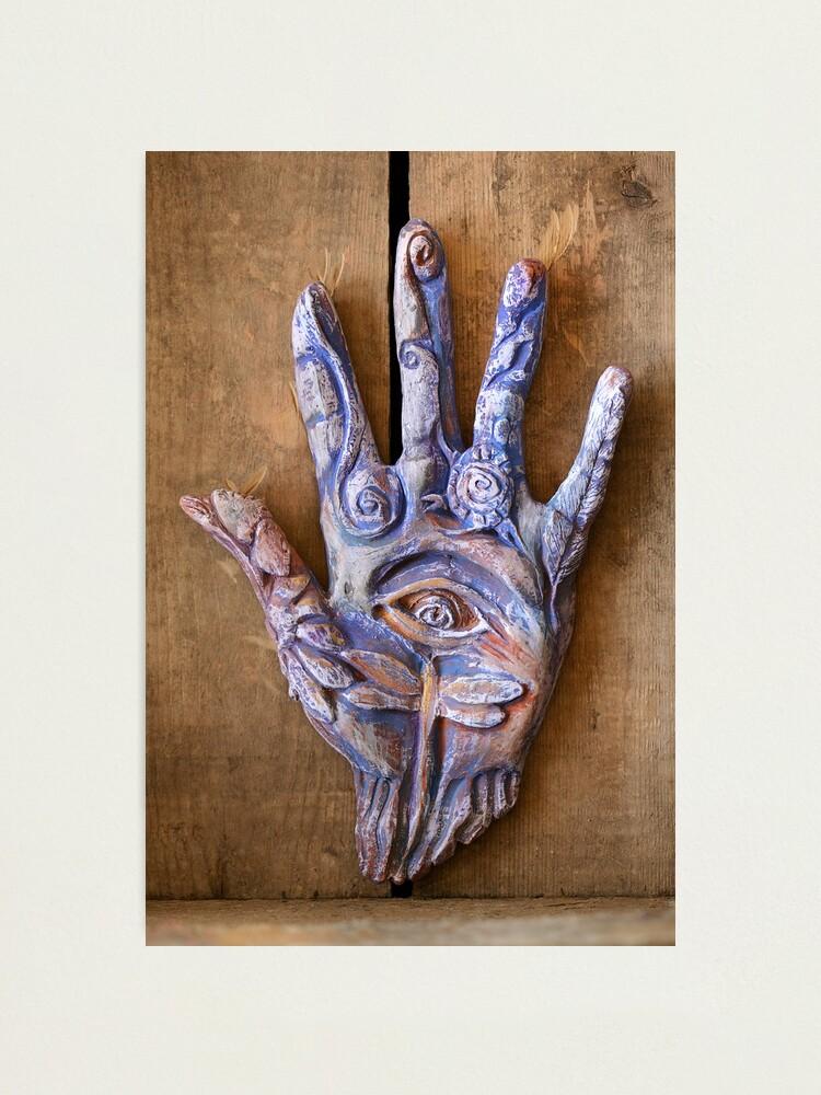 Alternate view of Hand Eye Photographic Print