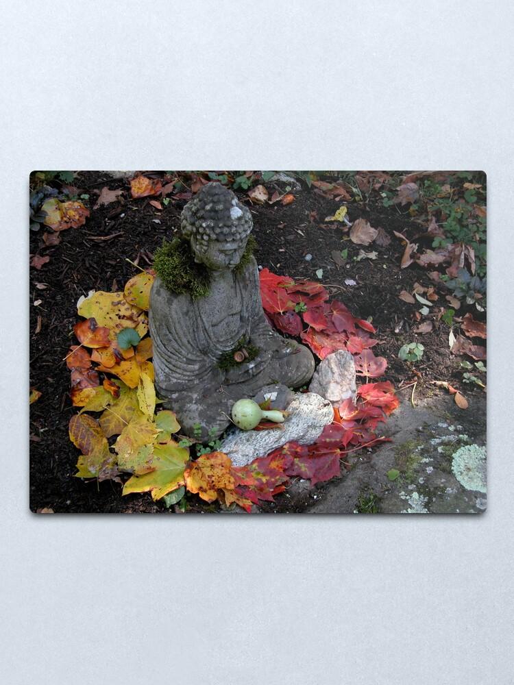 Alternate view of Buddha Mandala  Metal Print