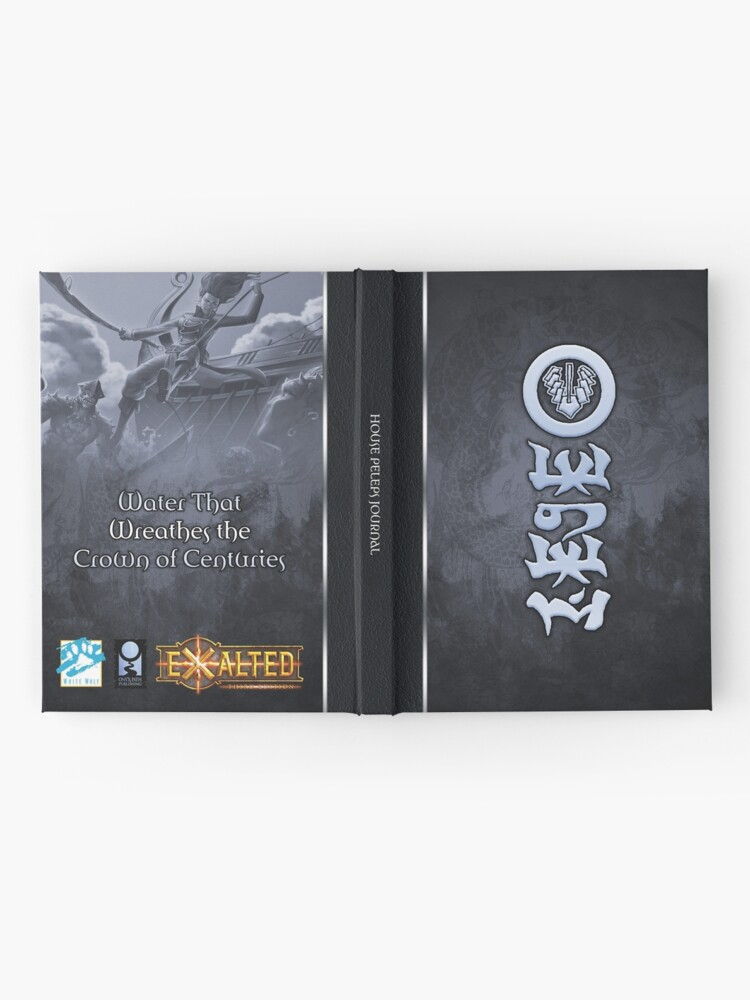 Alternate view of Dragon-Blooded: House Peleps Hardcover Journal