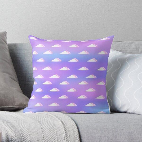 Soft Sky Pillows Cushions Redbubble