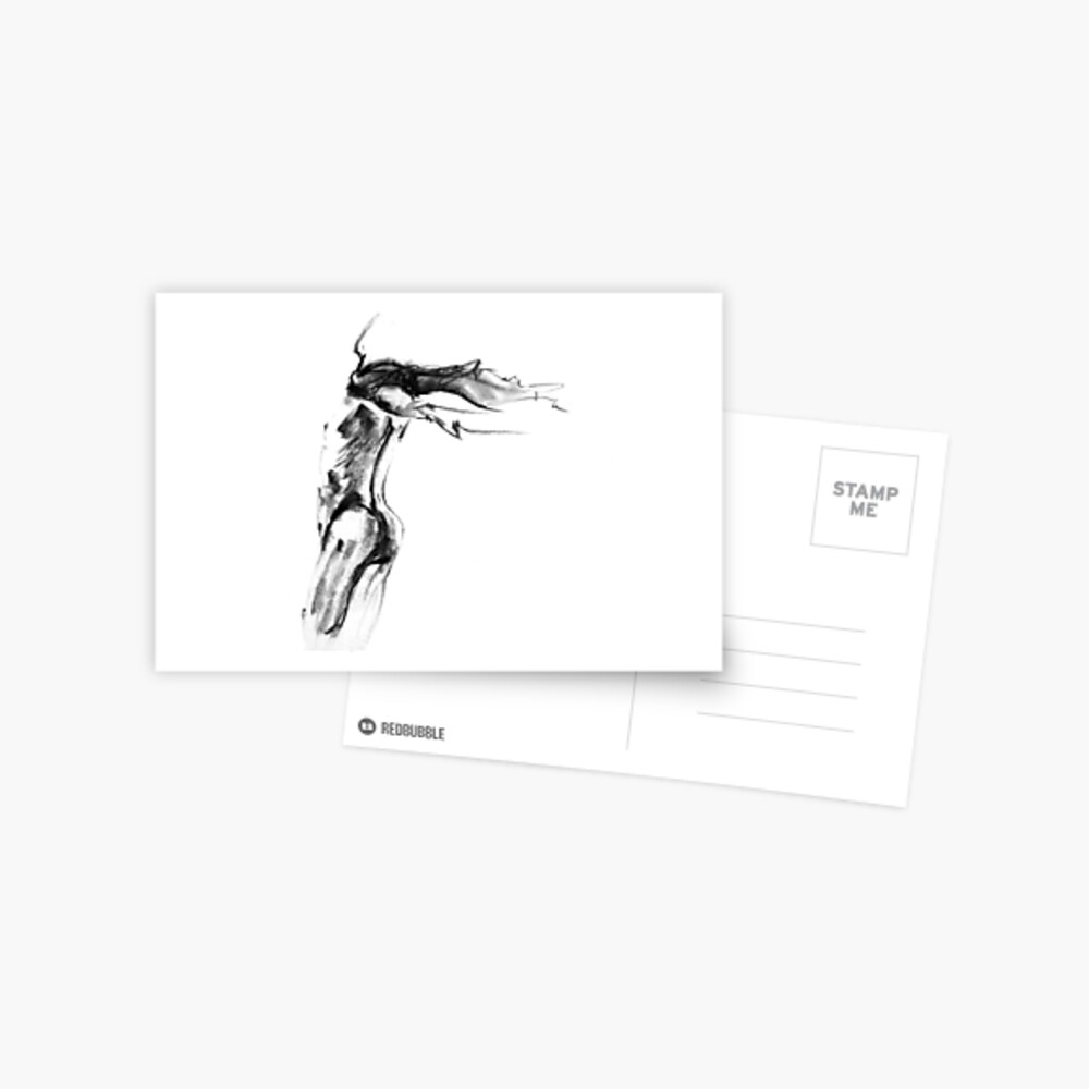 Thought Form - moving man III Postcard
