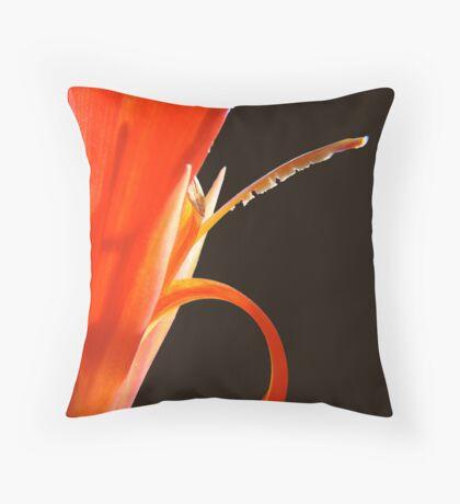 fiery piston Throw Pillow