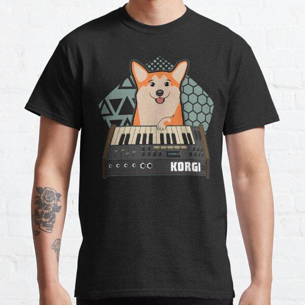 Funny Synthesizer fan KORGI Corgi Dog Lover Classic T-Shirt