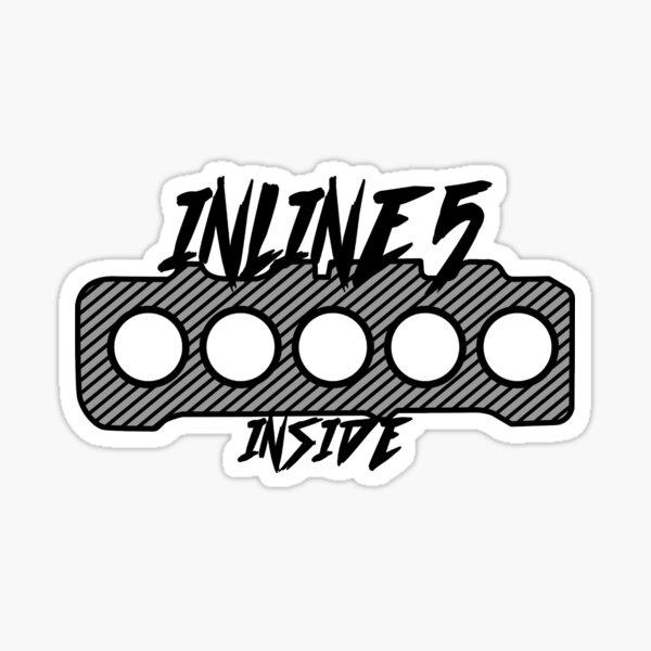 Inline 5 Inside Slap Pegatina