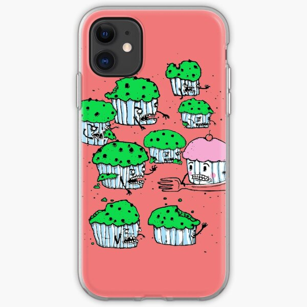 Muffin Zombies iPhone Soft Case