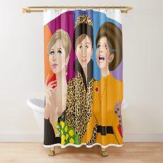 Babs fan Shower Curtain