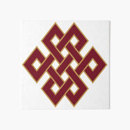 #Endless #Knot, #Eternal Knot, #EndlessKnot, EternalKnot  Art Board Print