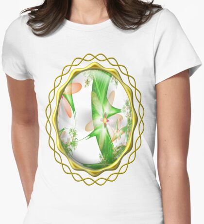 White Summer Flowers T-Shirt