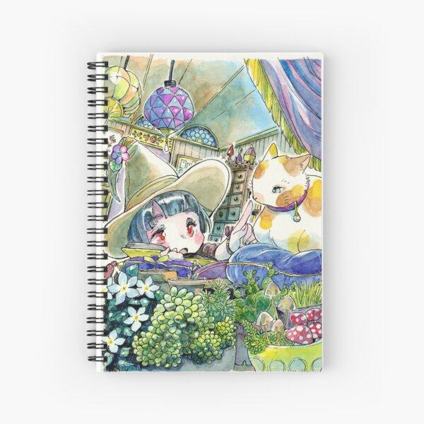 Witch apprentice Spiral Notebook