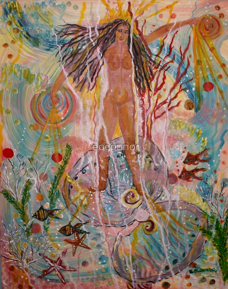Young Venus Rising by eoconnor