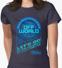 Off World Women's Fitted T-Shirt