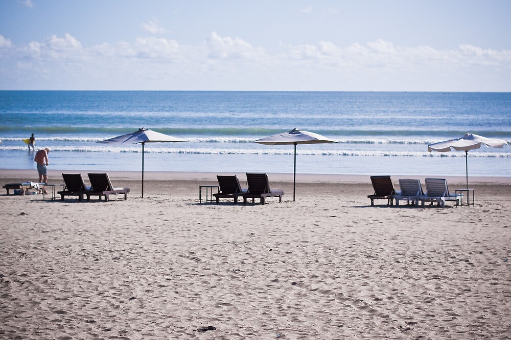 Seminyak Beach: All Decked Out by Ashlee Betteridge