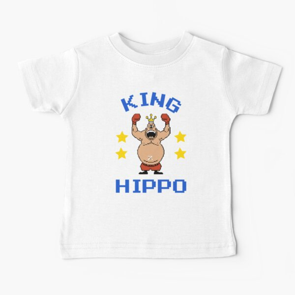 King Hippo Mike Tyson's Punch-out!!! Baby T-Shirt