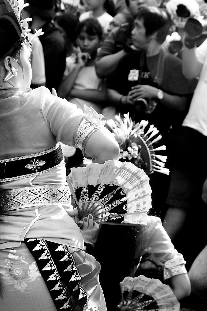 Balinese dancers by Ashlee Betteridge