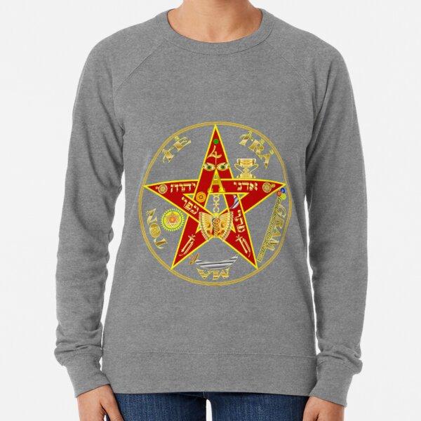 #PENTAGRAM #SYMBOL #PENTAGRAMSYMBOL #pentalpha pentangle star pentagon Lightweight Sweatshirt