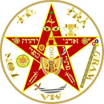 #PENTAGRAM #SYMBOL #PENTAGRAMSYMBOL #pentalpha pentangle star pentagon by znamenski