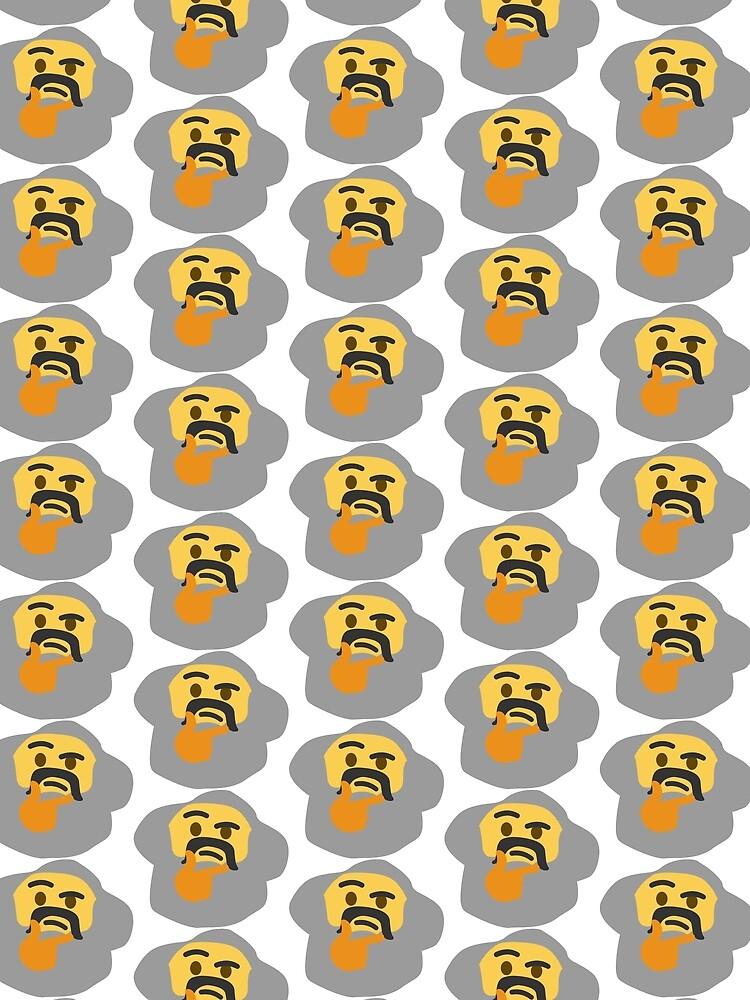 Denken Marx Emoji von wklnd