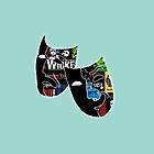 Theatre Masks Collage by vschultz25