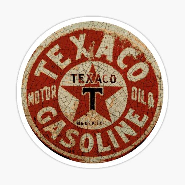 Texaco Sticker