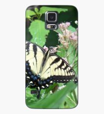 Canadian Tiger Swallowtail Butterfly Case/Skin for Samsung Galaxy